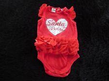 Santa Baby girls jumpsuit 12-18mths