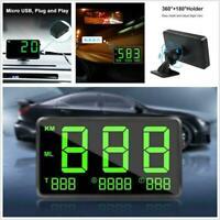 Auto Motor GPS Tacho Head Up Display Die Fahrgeschwindigkeit C80 Mit USB Sc D5X9