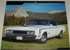 1969 Mercury Cyclone Dan Gurney Fastback car print (white & black)