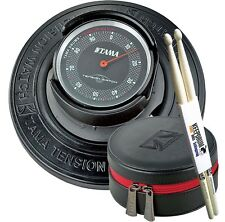 Tama TW200 Tension Watch Drum Tuner + TW2B Tasche + KEEPDRUM Drumsticks