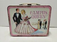 Vintage Campus Queen Metal Lunch Box King Seeley 1967 (No Thermos)