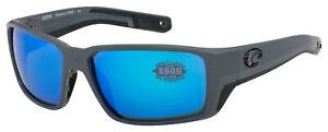Costa Del Mar Fantail Pro Sunglasses 6S9079-0960 Blue Mirror Polarized 580G