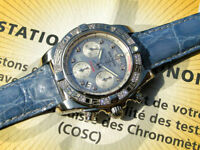 BREITLING CHRONOMAT 41 AB0140 DIAMONDS PERLMUTT ZB MOP NP CA. 12.000 €URO