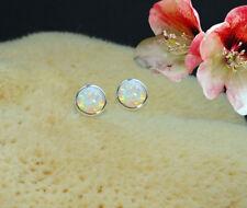 Ohrstecker mit Opal Triplette Ohrringe Ohrhänger echt 925 Sterling Silber  BC37