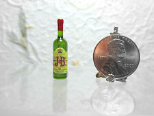 Dollhouse Miniature J & B Scotch Whisky Plastic Bottle