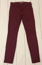 Rich & Skinny Purple Jeans Womens Size 27