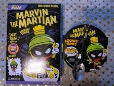 Marvin The Martian Funk-o's Funko's w/ Pocket Pop & Funko Cereal Bowl w/ spoon