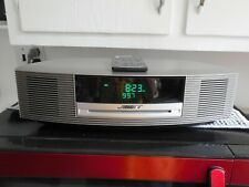 Bose Wave Music System III Radio CD Player Titanium Silver w/Remote and Manual