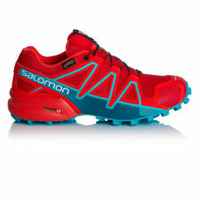 Scarpe sportive da donna rosso in gomma