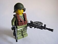 Lego Custom RUSSIAN INFANTRY Minifigure WWII Soldier W/ Guns & Accessories