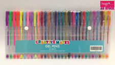 Pack of 30 Colors Creativemates Gel Pens Metallic Neon Pastel Glitter Art 372