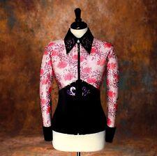 2X-LARGE Showmanship Pleasure Horsemanship Show Jacket Shirt Rodeo Queen Western