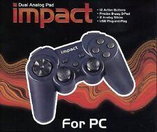 joystick Saitek Impact Dual Analog gamePad X6-38U USB GAME PAD GIOCO - facebook