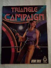 FASA Star Trek RPG: Triangle Campaign - 1985