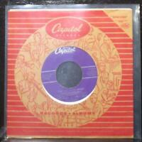 """Louis Prima & Keely Smith - That Old Black Magic 7"""" VG+ Vinyl 45 Capitol F4063"""