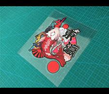 东瀛 Japanese koi JDM Culture Reflective car decal Sticker #002