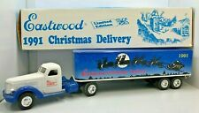 1991 Ertl Eastwood Christmas Delivery Truck  #9122  Coin Bank 1:64 ~ NEW IN BOX