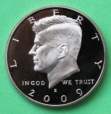 2009 S Proof Kennedy Half Dollar Coin 50 Cent JFK from US Mint Proof Set