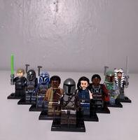 New Star Wars Minifigures 10PCS Mandalorian Lot - USA Seller & Fast Shipping