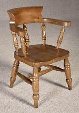 Reproduction Child Oak Captain Chair