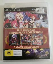 PS3 SEALED!! The Disgaea Triple Play Collection, strip seal aus pal rare!!