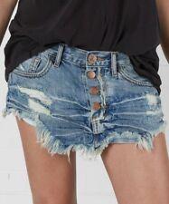 ONE X by ONETEASPOON Heartland 4040 Mini Denim Skirt RelaxedFit Size 26 *SAMPLE*