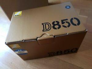 Nueva cámara réflex Nikon D850 DSLR (sólo cuerpo)..