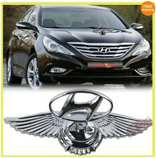 Car Auto Hood Bonnet Ornament Chrome Eagle Emblem For Hyundai Grand I-10, Xcent