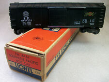 """LIONEL POSTWAR 6464-225 """"WHITE HERALD"""" ONE SIDE SOUTHERN PACIFIC BOX CAR EXC"""