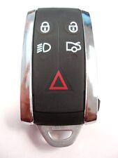 remplacement 5 Etui bouton pour JAGUAR XF XK Gousset Clé Télécommande