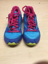 Reebok zigtech girls shoes blue and pink size   usa 13