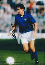 Roberto MANCINI SIGNED Autograph 12x8 Photo AFTAL COA Italian LEGEND