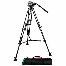 Manfrotto 504HD Head with 546B Aluminum Tripod System