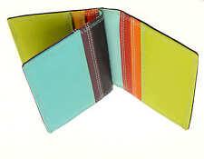 Cuero de crédito tarjeta titular / Cartera contiene 10 tarjetas de crédito