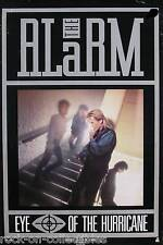THE ALARM 1987 EYE OF THE HURRICANE PROMO POSTER