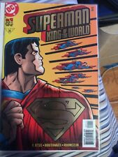DC Comics Superman King of the World Comic No 1 - June 1999