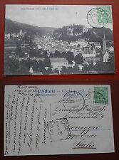 CARTOLINA CARTE POSTALE SOUVENIR DE LAROCHETTE 1910 LUXEMBOURG