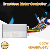 48V-64V 650W Electric Bicycle E-bike Scooter Brushless Motor Speed Controller UK