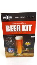 MR BEER Kit Premium Edition Homebrewing Craft Beer Making Kit American Lager-NEW