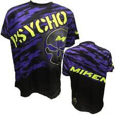 Miken Psycho Short Sleeve Shirt (Purple Camo) LARGE