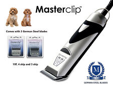 Cavapoo Cockapoo Dog Clipper Set ex demo Trimmer Set with 3 Blades by Masterclip