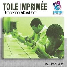 60x40cm - TOILE IMPRIMÉE TABLEAU POSTER - PETE ROCK CL SMOOTH - PRCL-02