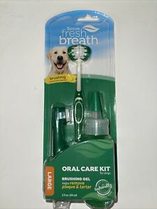 Tropiclean Fresh Breath Oral Care Kit Large Dog