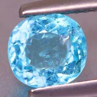 1.32cts Intense Neon Blue!Copper & Manganese Bearing PARAIBA TOURMALINE - BRAZIL