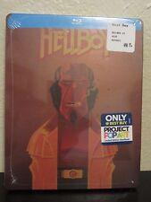 Hellboy Blu-Ray/Digital HD Steelbook Region Free New Pop Art Exclusive del Toro