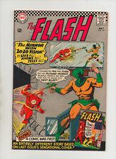 Flash #161 - Mirror Master Cover - (Grade 7.0) 1966
