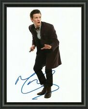 MATT SMITH - DR WHO - A4 SIGNED AUTOGRAPHED PHOTO POSTER  FREE POST