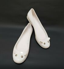 Marc by Marc Jacobs Shoes Ballet Flats Mouse Rubber White Italy Size 6 / 36