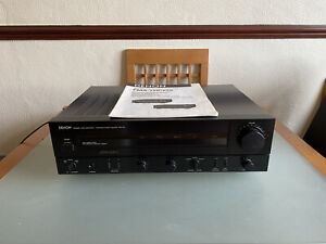 Denon PMA-520 Integrated Amplifier with Instructions & MM/MC Phono