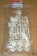 Tamiya 47334 TT-02 a piezas (vertical) (Blanco) (TT02/TT02D/TT02R/TT02S/TT02T), nuevo en paquete